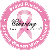 Cleaning for a reason logo